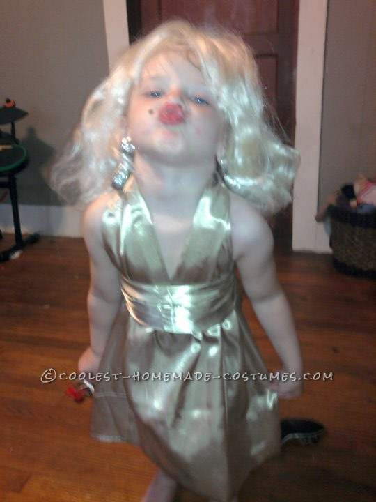 Cutest Little Marilyn Monroe Costume - Won Three Costume Contests!