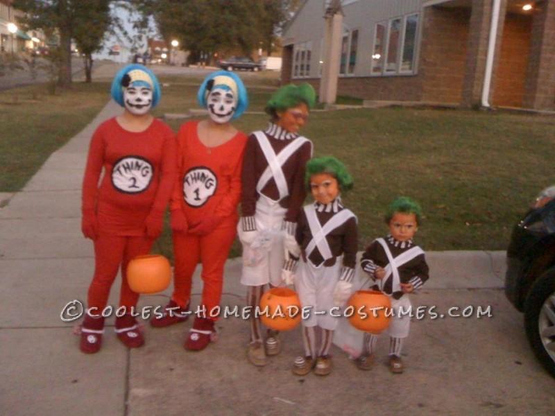 Easy Oompa Loompa Group Halloween Costumes