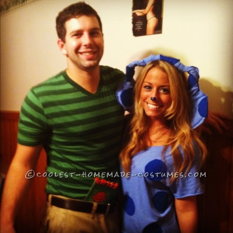 Last Minute Blues Clues/Steve Couple's Costume