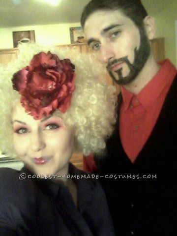 Great Homemade Couples Hunger Games Halloween Costume