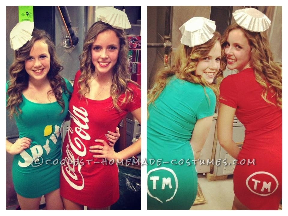 Soda Pop Halloween Costumes for Poppin' Gals