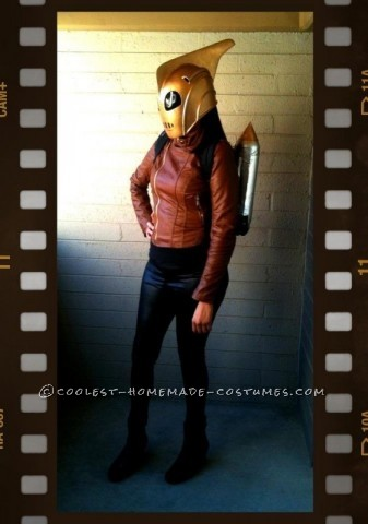 Coolest Homemade Rocketeer Costume