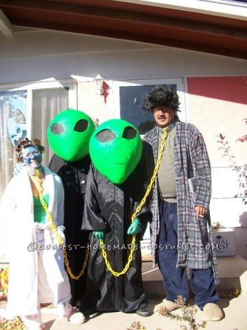Aliens and Abductees Halloween Costumes