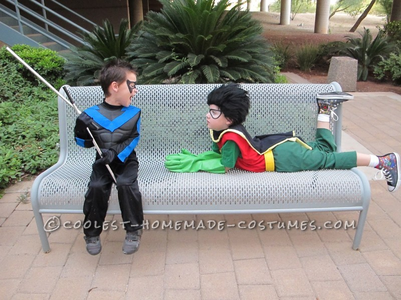 Coolest Halloween Titans Group Costume