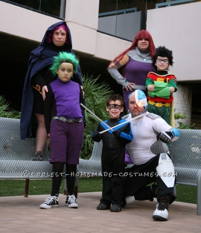 Coolest Halloween Teen Titans Group Costume