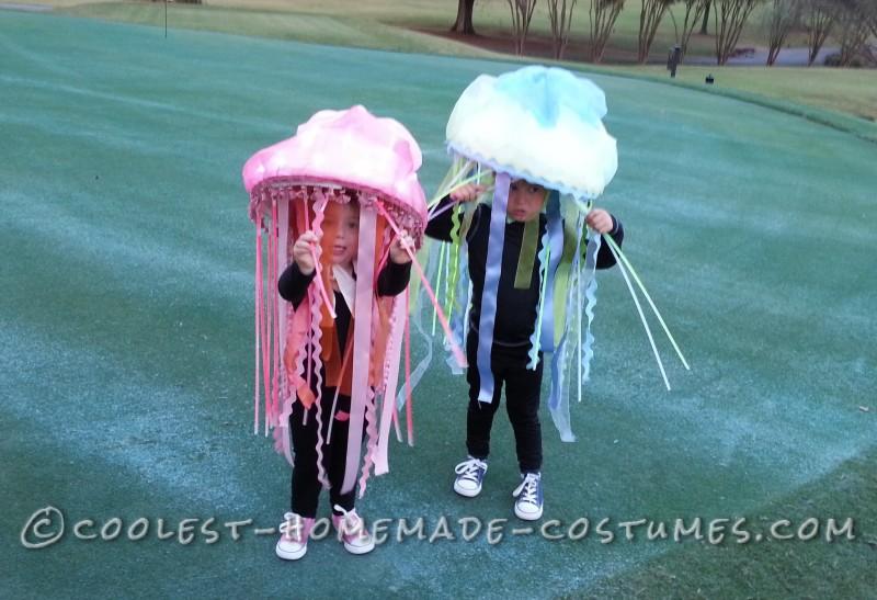 Easy Homemade Jellyfish Costumes