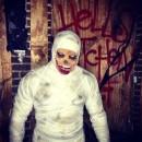 Easy Mummy Costume for Halloween