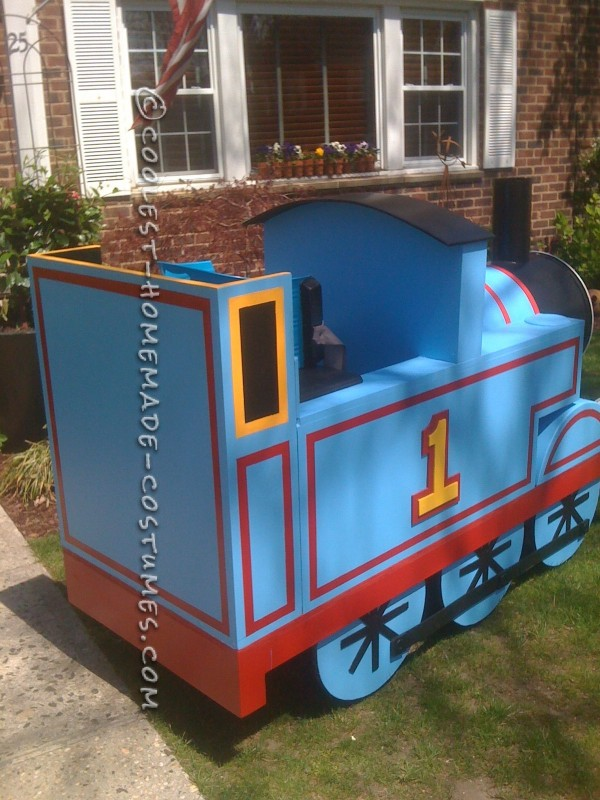 Epic Thomas The Train Halloween Costume