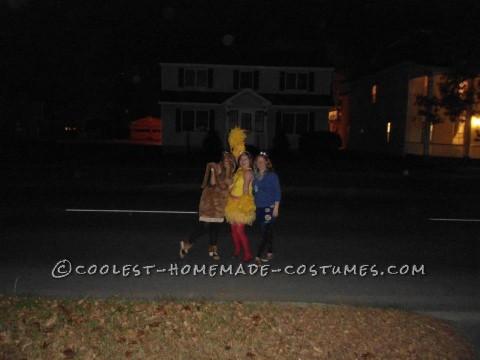 Coolest Homemade Mr. Snuffaluffagus Costume from Sesame Street