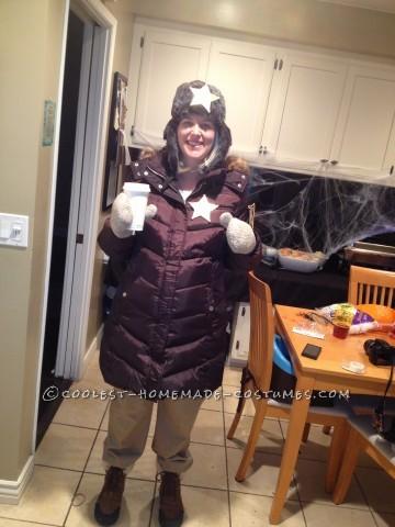 Homemade Fargo's Pregnant Marge Gunderson Halloween Costume
