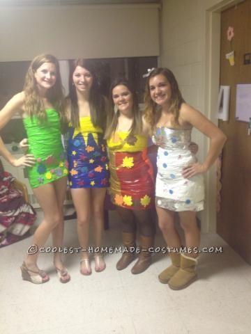DIY Four Seasons Group Halloween Costume