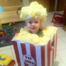 Homemade Toddler Popcorn Halloween Costume