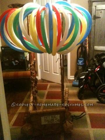 Cutest Hot Air Balloon Baby Costume