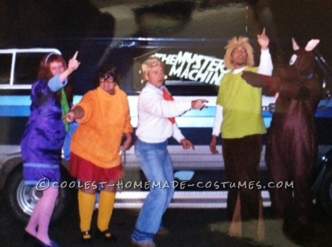 Coolest Homemade Scooby Doo and the Gang Halloween Costume