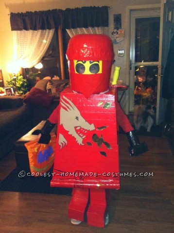 Coolest Homemade Lego Ninjago Child Costume