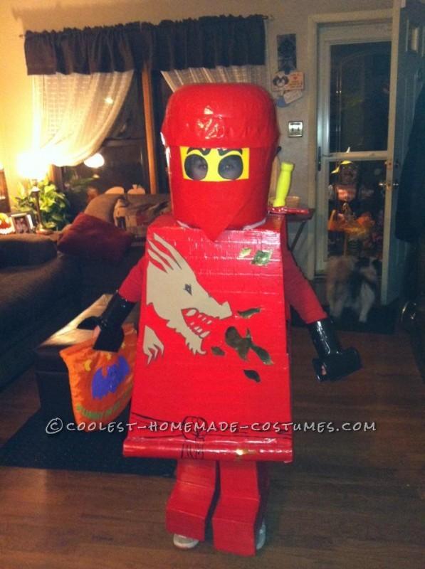 Coolest Homemade Lego Ninjago Child Costume