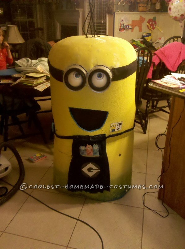 Cool Homemade Minion Costume - 3