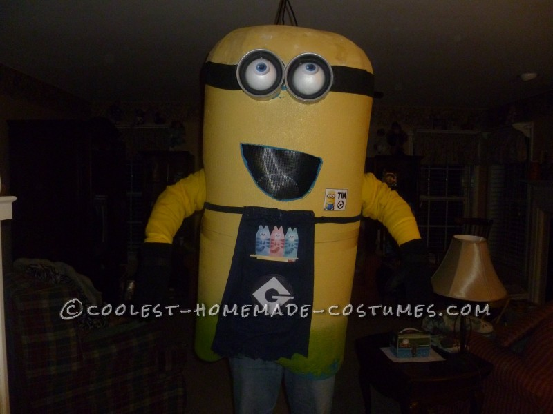Cool Homemade Minion Costume - 1