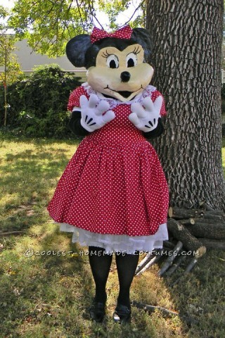 Homemade Minnie Mouse Costume