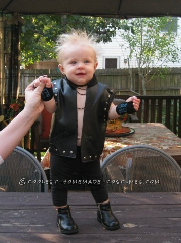 Coolest Last-Minute Baby Billy Idol Costume - Rock the Cradle of Love
