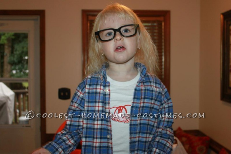 Schwing!! Homemade Wayne and Garth Adult and Kid Costume - 1