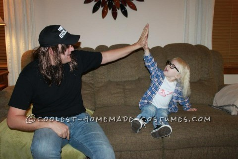 Schwing!! Homemade Wayne and Garth Adult and Kid Costume