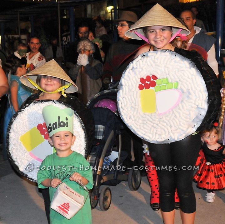 Fun Sushi Group Costume