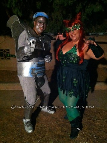 Very Cool Mr. Freeze and Poison Ivy Couple Costume