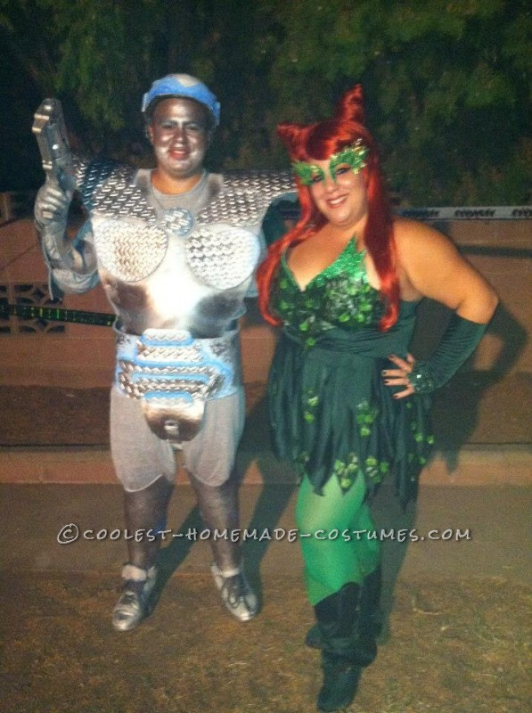 Very Cool Mr. Freeze and Poison Ivy Couple Costume - 1