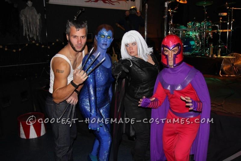 Homemade X-Men Group Halloween Costume