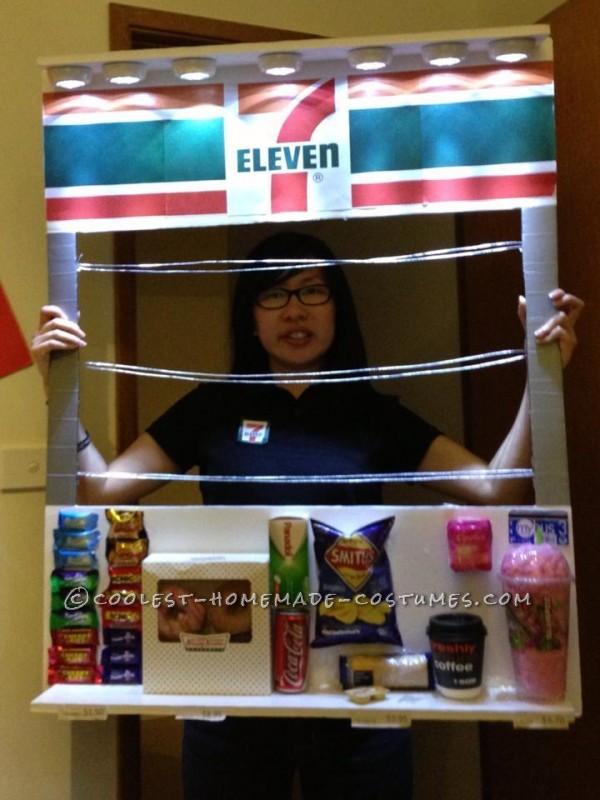 7 Eleven Store Homemade Costume