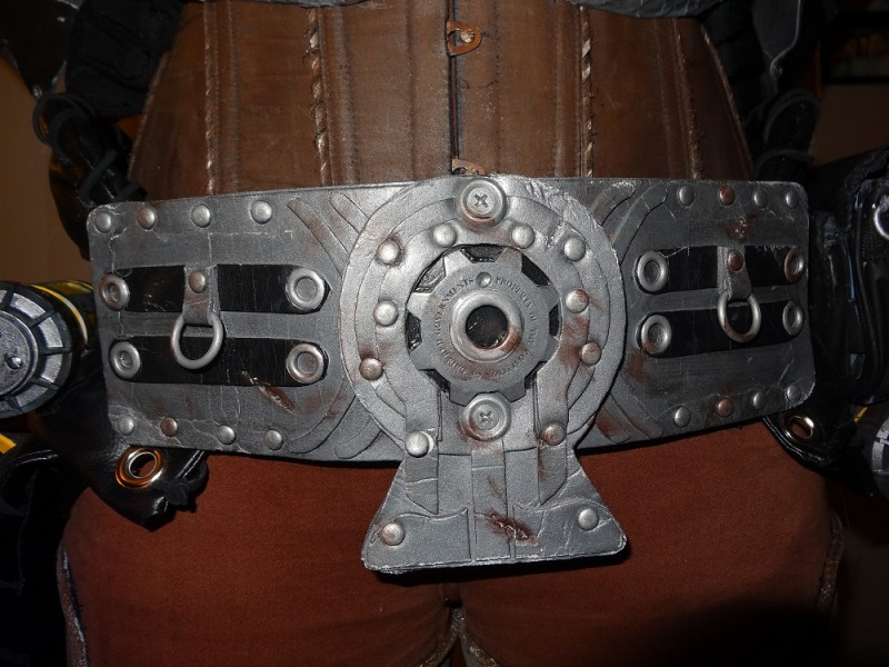 Anya Stroud Gears of War 3 Homemade Costume Belt