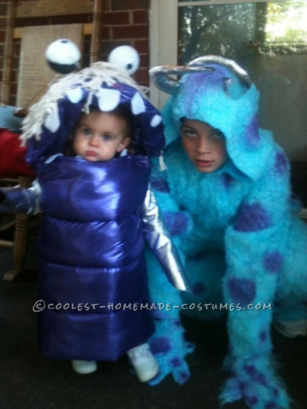 Adorable Boo And Sully From Monsters Inc Toddler And Child Costumes