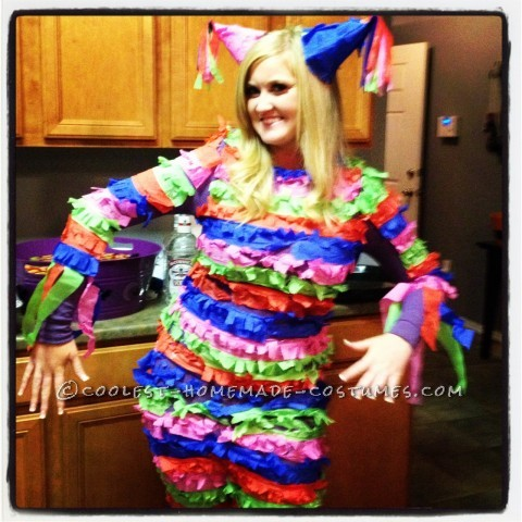 Best Homemade Pinata Costume for a Woman