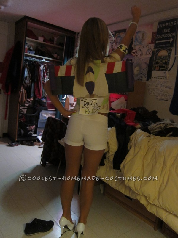 Sexy Homemade Buzz Lightyear Costume - 2