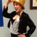Coolest Homemade Columbia (with a Twist) Costume from Rocky Horror Picture Show