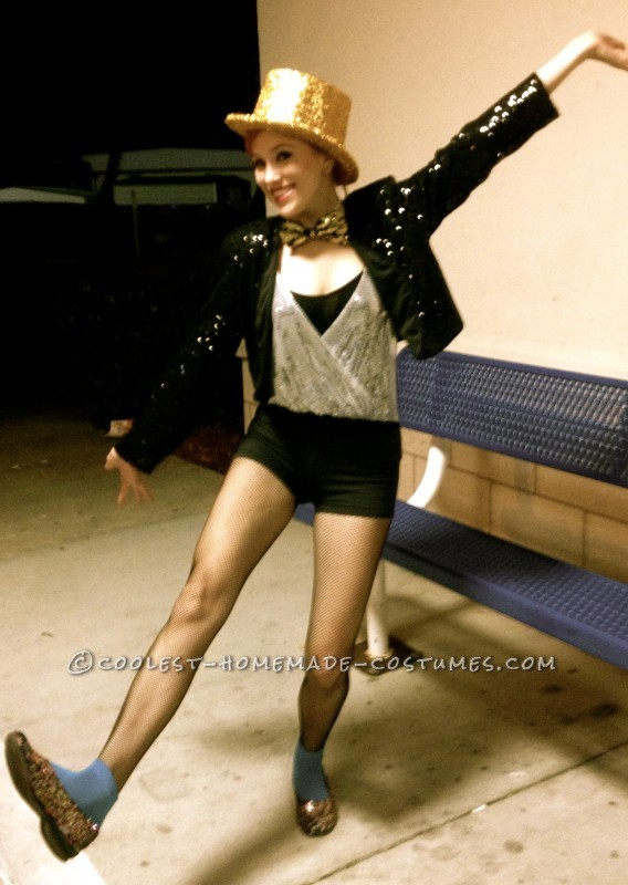 Coolest Homemade Columbia (with a Twist) Costume from Rocky Horror Picture Show - 1