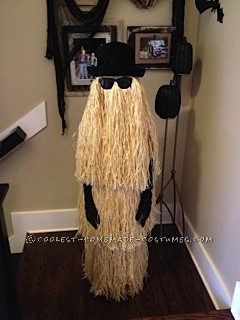 Cool Homemade Cousin Itt Costume
