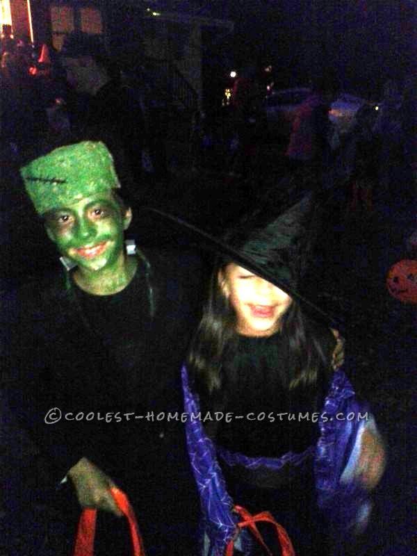 Coolest Kids Frankenstein's Monster Homemade Costume - 2
