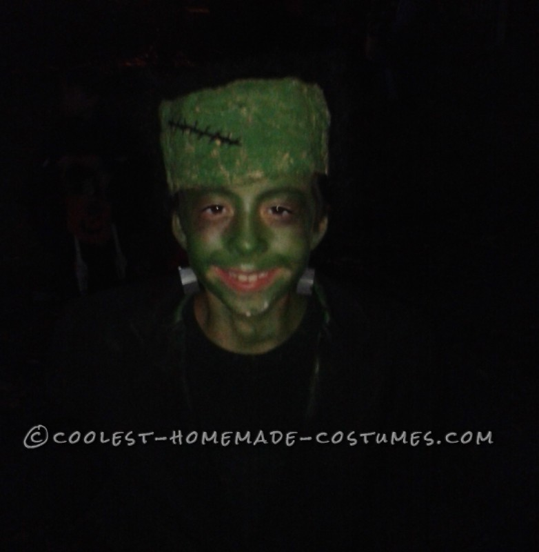 Coolest Kids Frankenstein's Monster Homemade Costume