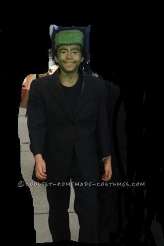 Coolest Kids Frankenstein's Monster Homemade Costume