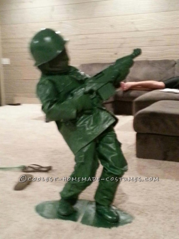 Coolest Toy Soldier DIY Costume for a Child - 1