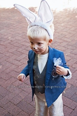 """""""I'm late!"""" white Rabbit"""