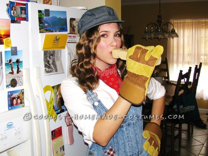 Cute and Easy DIY Train Engineer Costume