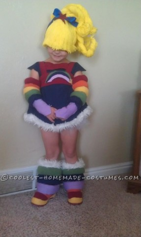Cutest Rainbow Brite Homemade Halloween Costume