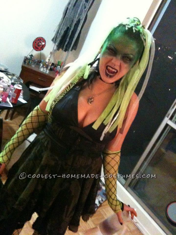 Creative Cyber Medusa Homemade Costume