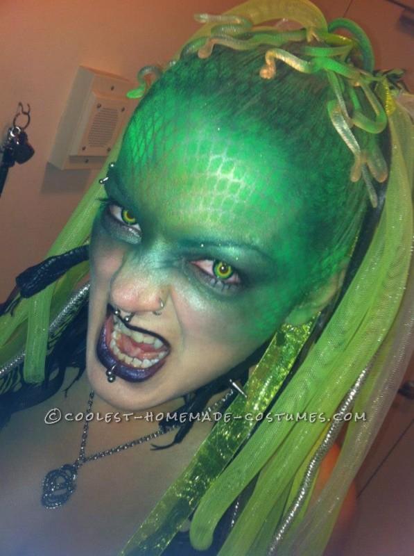 Creative Cyber Medusa Homemade Costume - 1