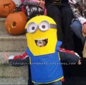 DIY Despicable Me Minion Costume for Boys