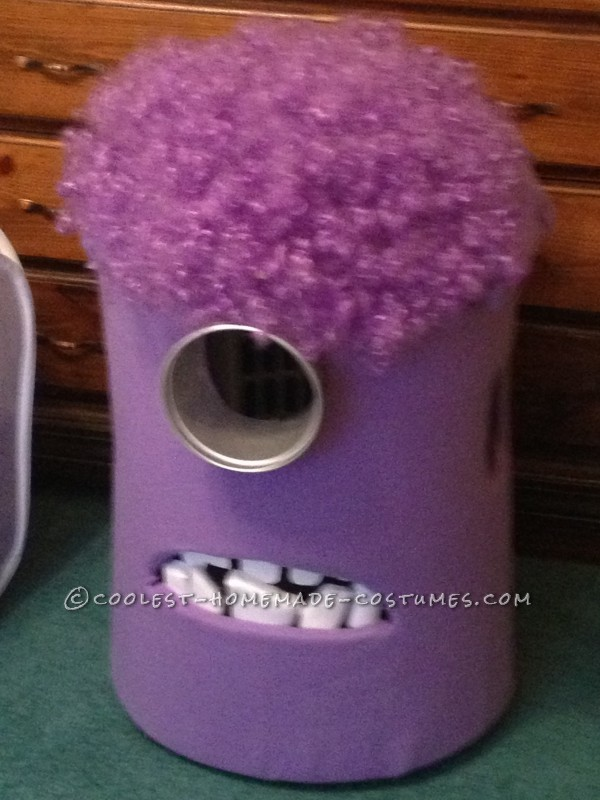 Coolest Homemade Purple Evil Minion Costume from Despicable Me - 2