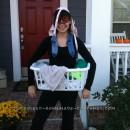 Last Minute Homemade Costume Idea: Dirty Laundry!